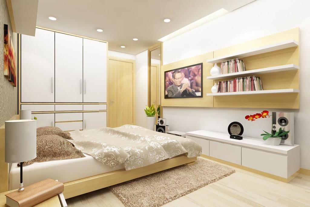 phòng ngủ đẹp Golden Land