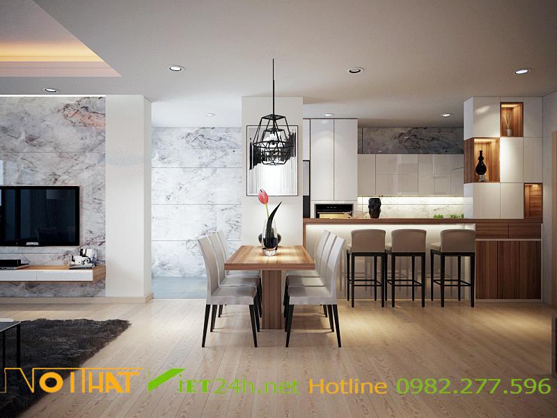 Thiết kế và thi công căn hộ chung cư