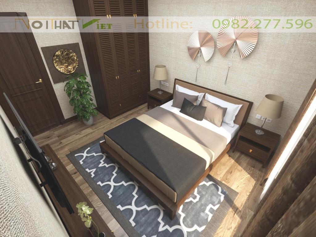 Phòng ngủ giúp việc phía trước-tầng 3 anh 3